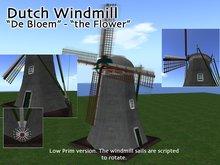 Dutch Windmill - De Bloem - grondzeiler
