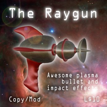 Raygun With Awesome Plasma Explosion Effects