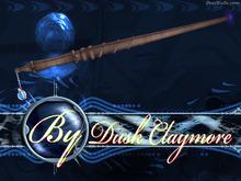 Dusk Designs: Mahogany Dragon Heartstring 2 Wand