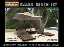 60% OFF! Kalea beach set
