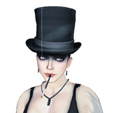 Bloody Mess -  Used Black Top Hat