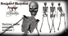 Sculpted Skeleton Avatar