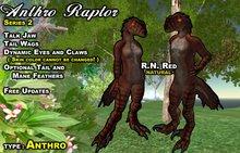 Anthro Raptor AV R.N.Red