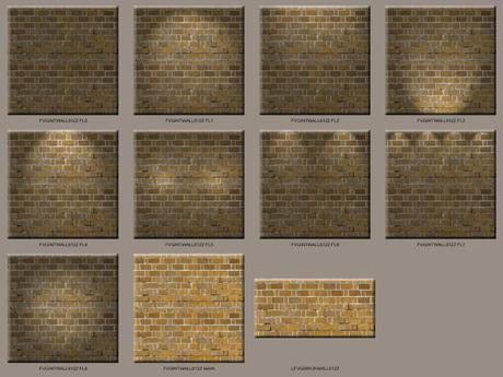 Urban Brick Wall Textures