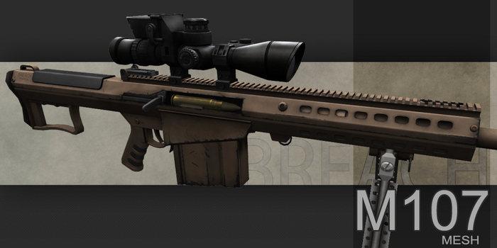 *BREACH* M107 Sniper Rifle