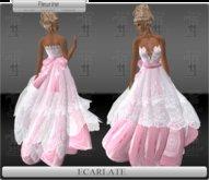 Ecarlate - Dress Pink / Robe Rose - Fleurine Droite