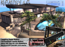 .:MEMORIAE:.  Full furnished & interactive house - skybox 1NNOVAT1ON Design home.