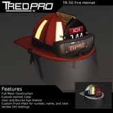 Tredpro TR-50 Firefighter Helmet