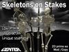 Dead Center: Skeletons on Stakes