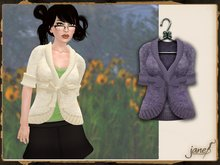 JANE - chase sweater.lilac