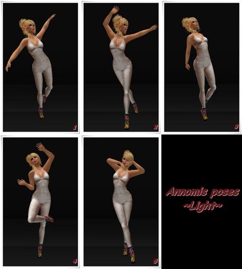 Annomis poses~Light-