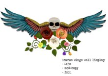 Icarus Wings Display by Flightless