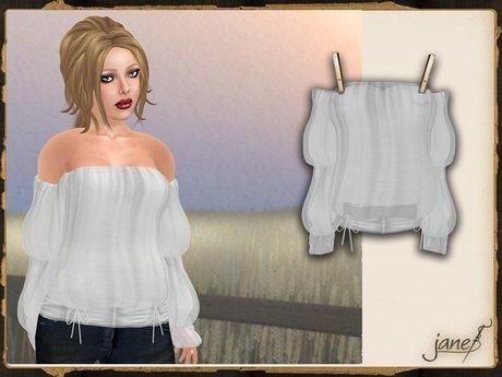 JANE - mystic blouse.milk