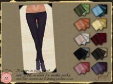 JANE - lil piggies tights.cableknit.31 pack