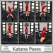 *MP* Katana (Single Poses)