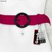 Gawk! Leather Waist Belt - PINK -