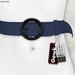 Gawk! Leather Waist Belt - STEELBLUE -