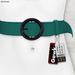 Gawk! Leather Waist Belt - TURQUOISE -