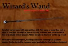 Magic Wand: World of Hogwarts model + 16 spells