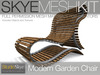 Skye MESH Kit - Full Perms Modern Garden Chair ** Intro/ promo price