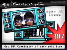 Affiliate Vendor Hairs & Fashion 10%