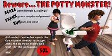 Mudlarks Potty Monster Prank