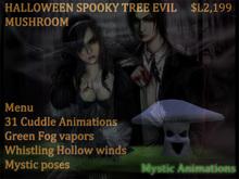 Halloween Spooky ranger Mushroom
