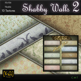 [K.O] - Shabby Walls 2 - 10 Textures