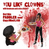 Clown Paddler - PERFECT HALLOWEEN GIFT