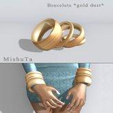 MishuTa - Bracelet *gold dust*