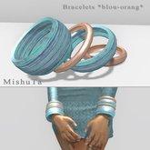 MishuTa - Bracelet *blue-orang*