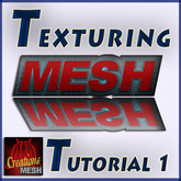 Tutorial 'Texturing MESHES'