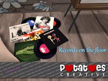 Potatoes Creative - Records on the Floor