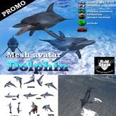 *R&Ms* Mesh avatar  dolphin (promo)