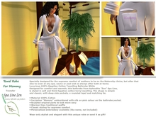 """Towel robe """"Mommy"""" for Maternity clinic (boxed)"""
