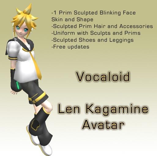 Len Kagamine Anime Avatar