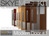 Skye MESH Kit - Full Perms 3 PRIM Modern Door