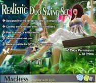 REALISTIC DUO SWING SET (PLAYABLE!)