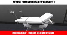 Medical Examination Table White V 1.00 - Copy Version