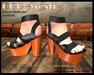 CGG MESH Black Platform Sandals - Viewer 3 ONLY - MESH