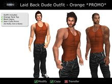 BSN Laid Back Dude Outfit - Orange *PROMO*