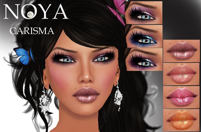 **NOYA** [PROMO] 50% OFF = CARISMA -4 Shapes, 3 Skins, 15 Make Ups -Next Generation Skins