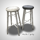 ::FG:: counter stool (white set)