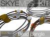 PROMO PRICE -Skye MESH Kit - Full Perms Bead Bangle Jewelry Kit