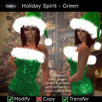 BSN Holiday Spirit - Green *PROMO*
