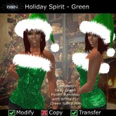 BSN Holiday Spirit - Green *PROMO*