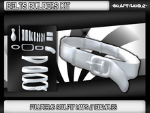 [ Body Adepted ] Belt Builders Kit // 20 Sculpt Maps