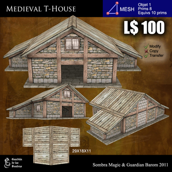 LOW PRIM - Medieval T-House [G&S]