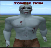 Zombie Skin, ideal for SL Halloween parties & roleplay