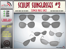 Sculpt SUNGLASSES #2 by **aVISTYLe** (Low Price Line) for FULL PERM